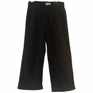 Children's place black fleece pants size 4